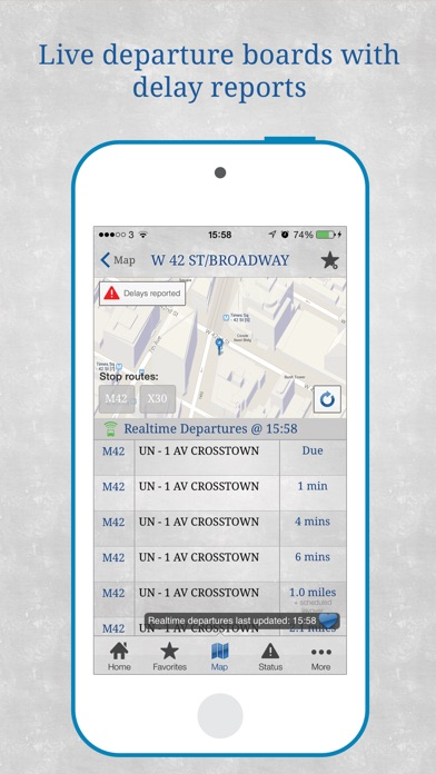 Bus New York City review screenshots