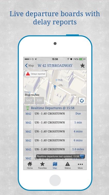 Bus New York City screenshot-3