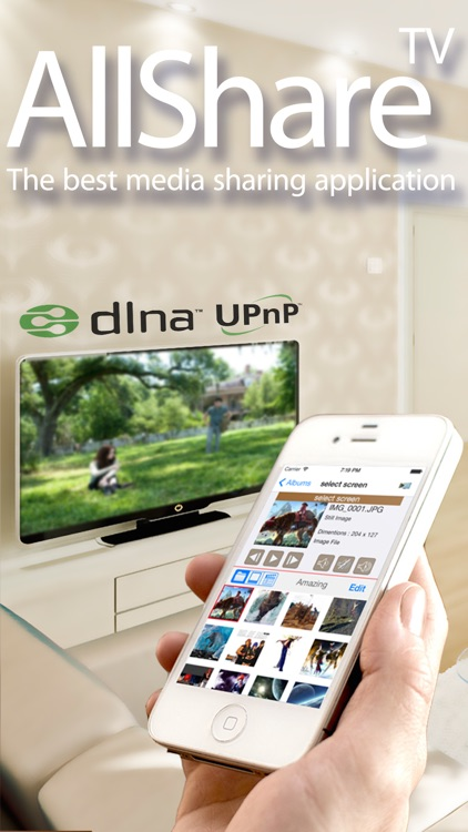AllShare TV - Media Server with SmartTV Connect screenshot-0