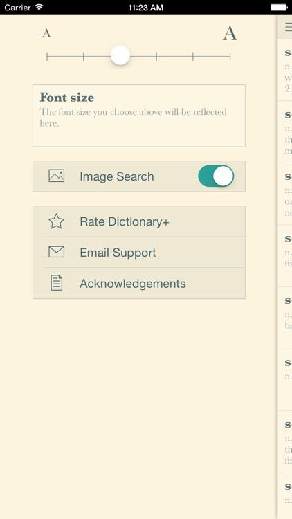 Dictionary+: Elegant offline dictionary with images screenshot-4