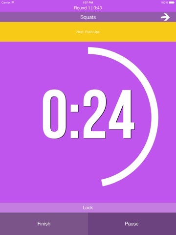 interval timer infinite free timing for hiit, tabata, crossfit, circuitscreenshot 3 for interval timer infinite free timing for hiit, tabata, crossfit