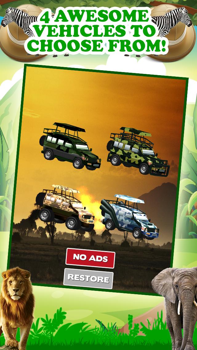 エンドレスリアルアドベンチャーシミュレータードライビング無料で3Dサファリジープレーシングゲームのおすすめ画像1
