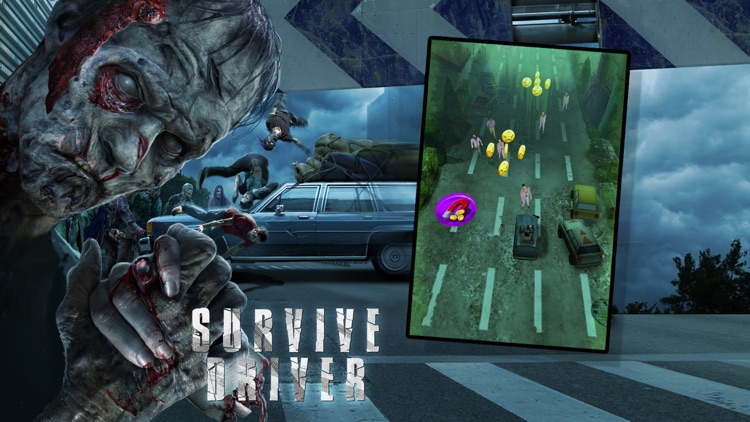A Survive Driver Free: Best 3D Driver Game in Post Apocalyptic Setting with Zombies and Car Upgrades
