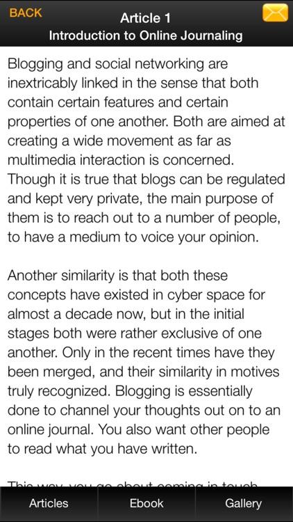 Blogging Basics for Beginners screenshot-3