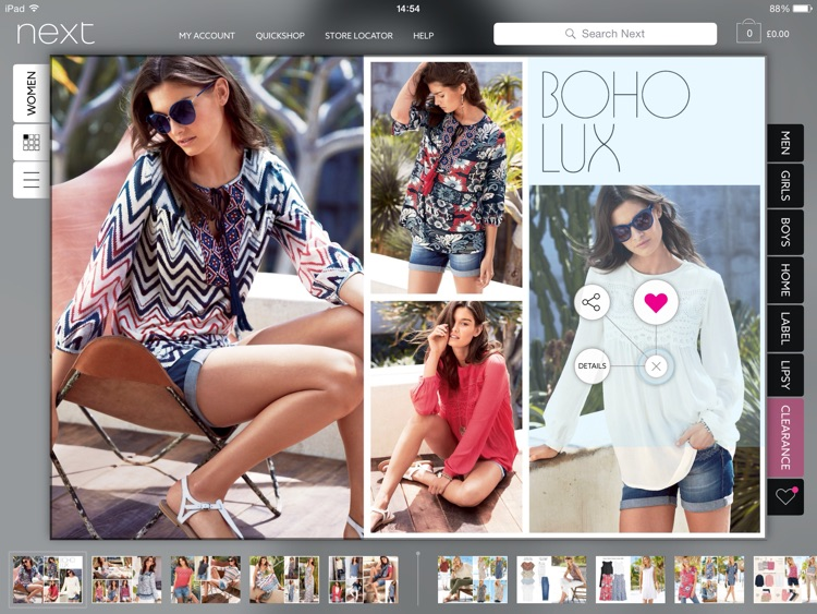 Next for iPad - Fashion & Homeware Shopping