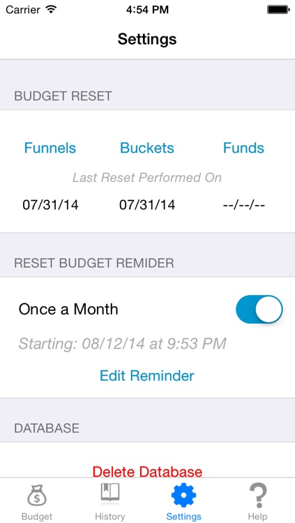 Buckets and Funnels PRO - Savings and Expense Budgeting screenshot-4