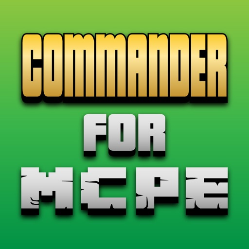 Commander for Minecraft Pocket Edition - PE