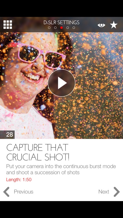 Master your Canon D-SLR camera – a beginner's video guide screenshot-3