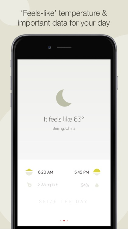 Weather Dial 2 - A Simpler, More Beautiful Weather App screenshot-4