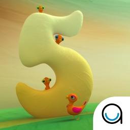 5 Little Ducks: Children's Nursery Rhyme