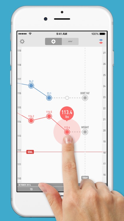 PopWeight - Easily track and record your weight screenshot-0