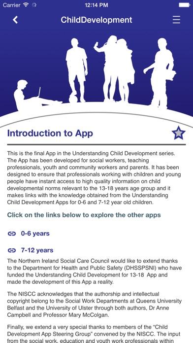 Understanding Child Development for 13-18 years screenshot two