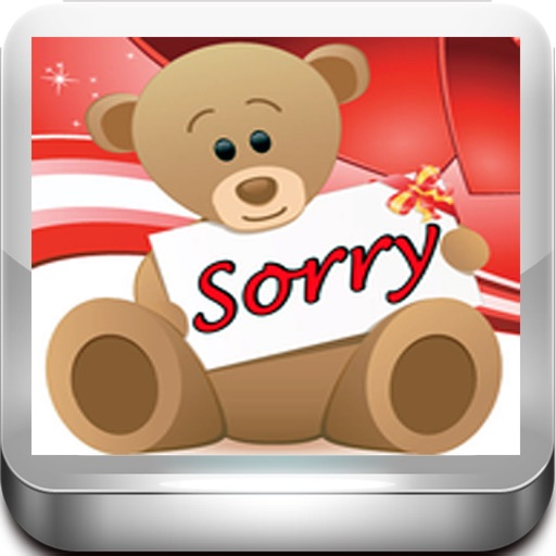 Sorry Cards with photo editor.Send sorry greeting card and custom apology ecards with text and voice messages!