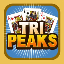 Tri-Peaks Solitaire Free Card Brain Training IQ