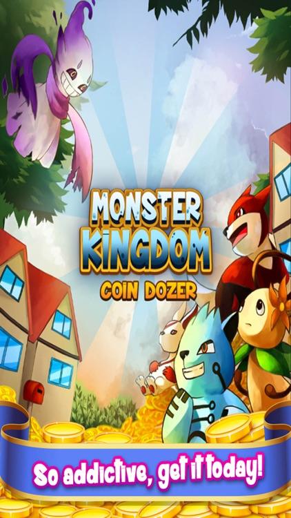 3D Monster Kingdom Coin Dozer - Cute Creature Collector Arcade Game