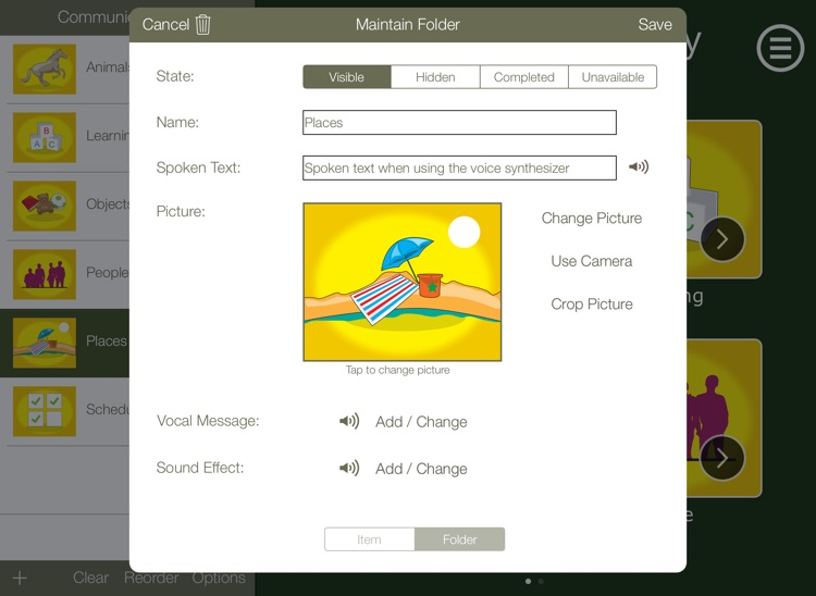 Communicate Easy - Autism App for iPad for Special Needs Communication screenshot-3