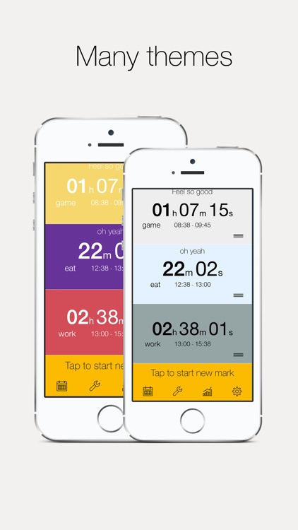 Time Mark - Beautiful Time Tracker With Insights screenshot-4