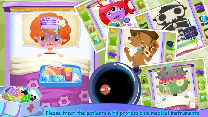 Candy's Hospital - Kids Educational Games Screenshot