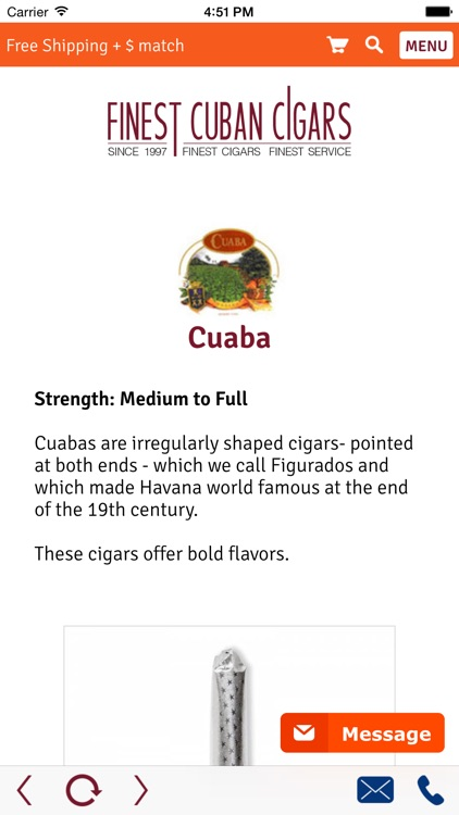 Finest Cuban Cigars - Premium finest Cuban cigars at best quality and genuine Havanas