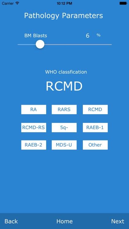 Comprehensive MDS Risk Calculator