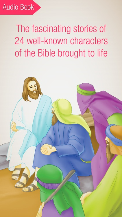 Bible People Premium - 24 Storybooks and Audiobooks about Famous People of the Bible