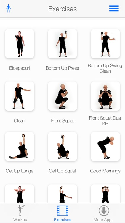 Virtual Trainer Kettlebell screenshot-1