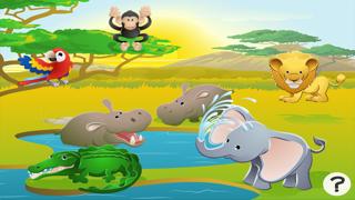 アクティブ! サファリ約子供のためのゲーム: 学び、遊ぶ 動物とののおすすめ画像1