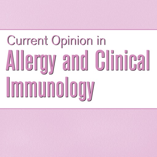 Current Opinion in Allergy & Clinical Immunology
