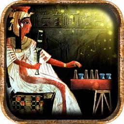 Senet Égyptien (Jeu de l'Egypte Antique) Anubis vous appelle pour jouer le rôle du pharaon Toutânkhamon(Roi Tut), à l'intérieur d'une tombe cachée, afin de pouvoir renaître avec les dieux dans l'au-delà, sous la protection de l'Œil Oudjat