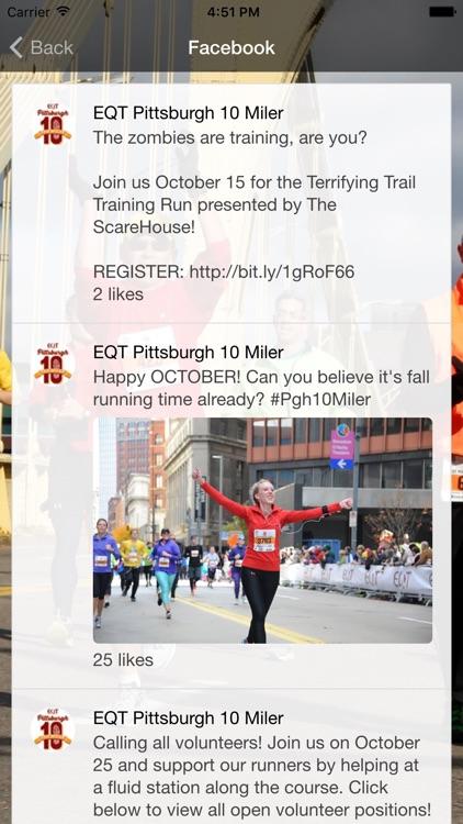 EQT Pittsburgh 10 Miler screenshot-3