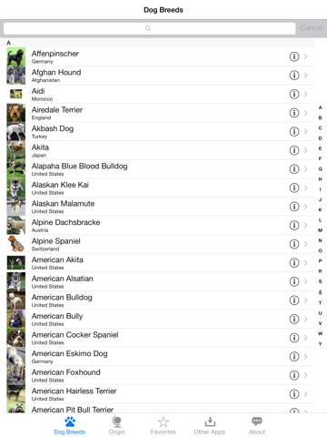 Guide to Dog Breeds screenshot