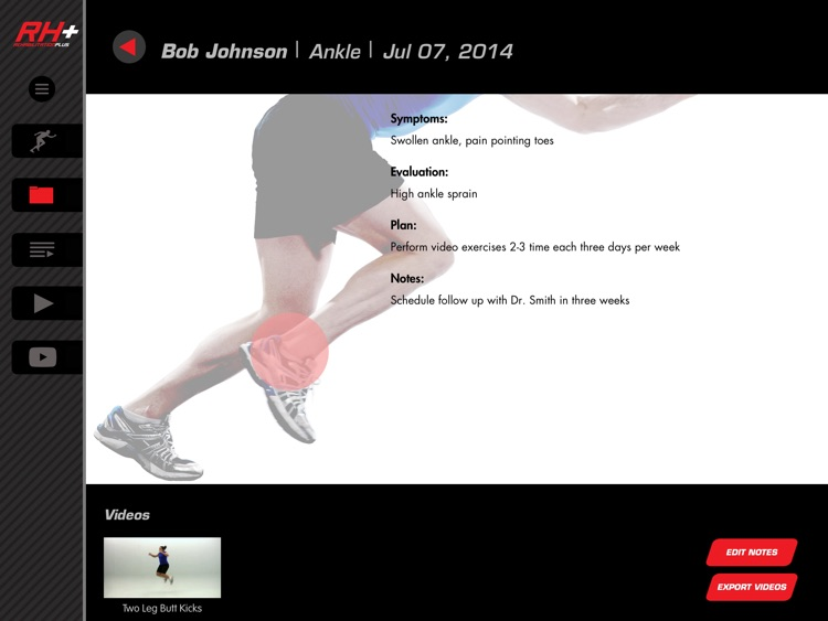 Rehabilitation Plus: Video-Led Exercises for Sports Injury Rehab screenshot-3