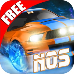 NOS for Airborne Speed FREE - Nitro Muscle Car infinite Race game