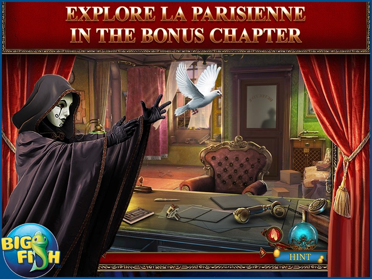 Danse Macabre: Crimson Cabaret HD - A Mystery Hidden Object Game (Full) screenshot-3