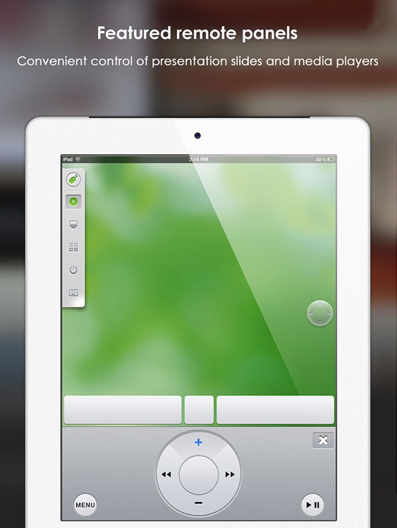 Remote Mouse FREE for iPad - wireless keyboard, trackpad, best remote for computer screenshot-3