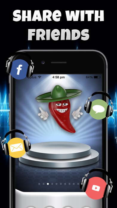 Talking Emoji Voice Changer Free - Crazy Helium Booth Fake Modifier