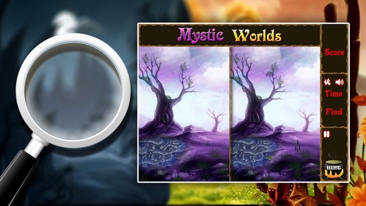 Spot the Difference: Mystic World screenshot-4