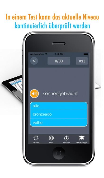 Learn German and Portuguese: Memorize Words - Free screenshot-4