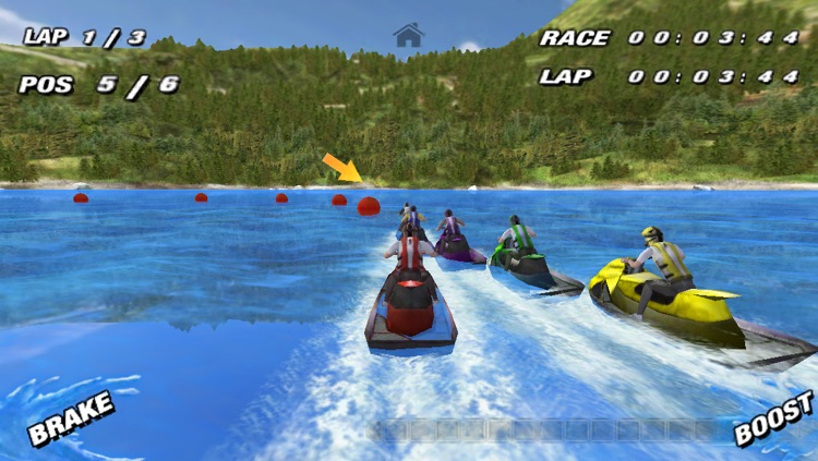 Aqua Moto Racing screenshot-1