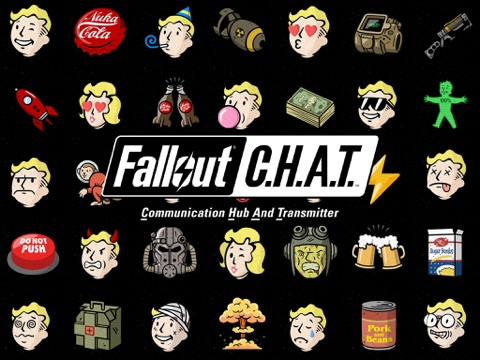 Fallout CHAT ipad images