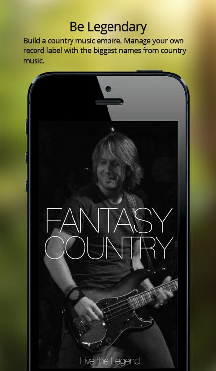Fantasy Country — a music industry simulation game