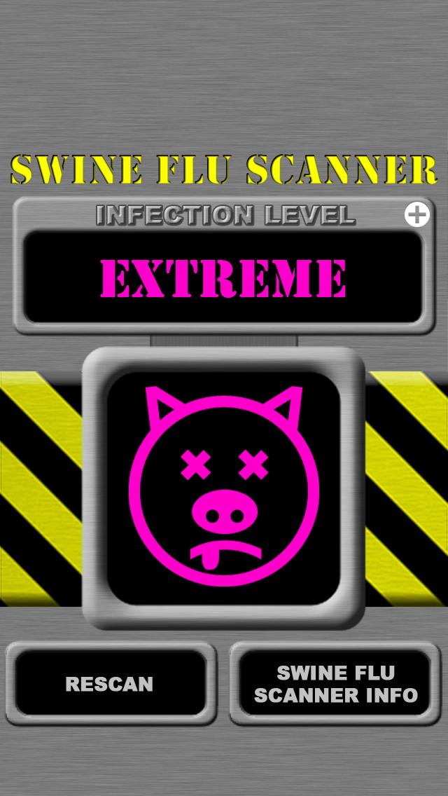 Swine Flu Scanner Free (Fingerprint Test) screenshot one