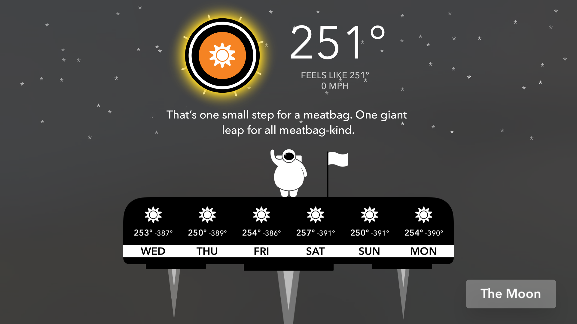 CARROT Weather: Talking Forecast Robot screenshot 4