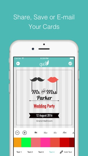 Quill invitation cards for birthdayweddingpartyeventchristmas on quill invitation cards for birthdayweddingpartyeventchristmas on the app store stopboris Choice Image