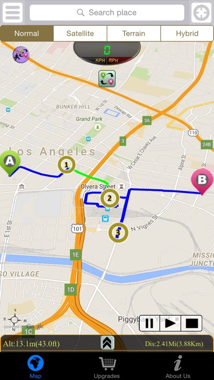 Driving Route Finder screenshot-4