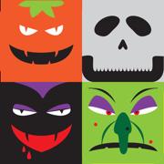 万圣节益智游戏:匹配3个植物大战僵尸,吸血鬼,骷髅,巫婆及更多