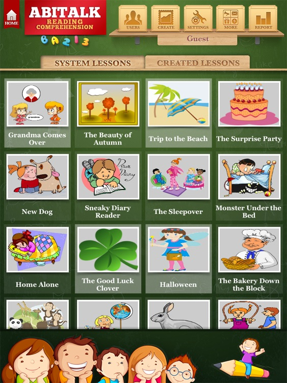 Third Grade Reading Comprehension Fiction Free screenshot-0