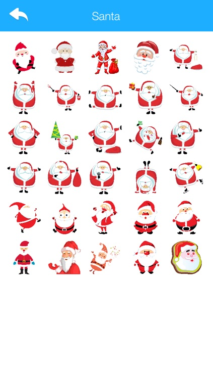 Winter Stickers & Emoji for WhatsApp and Chats Messengers Christmas Holiday Edition 2016 screenshot-3