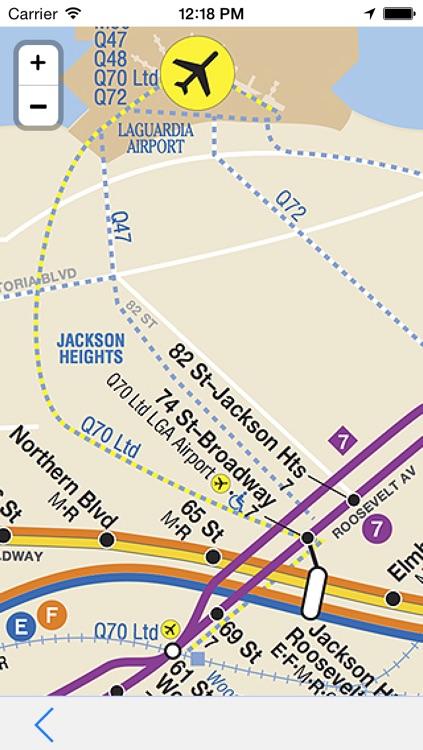 New York Subway - Offline Map of Transports