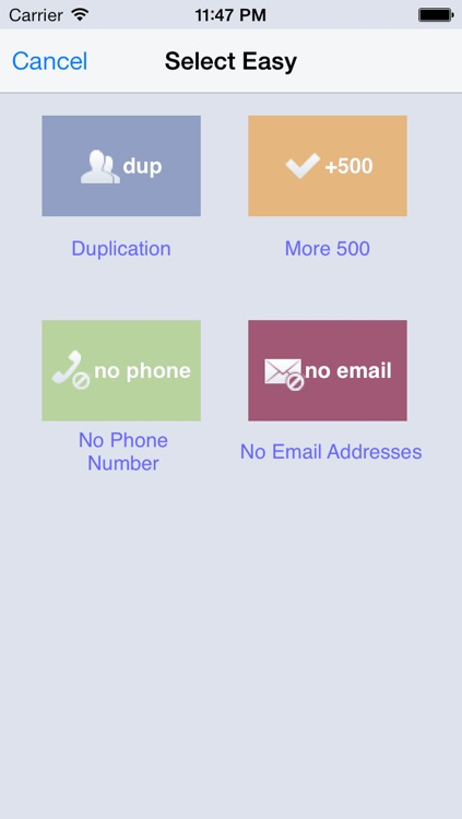 Delete Contacts Fast - DeleteQ screenshot-3